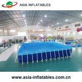 certificat CE populaire châssis métallique extérieure, piscine de l'équipement