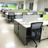 움직일 수 있는 주춧대 선형 책상 사무실 워크 스테이션을%s 가진 사무실 칸막이실