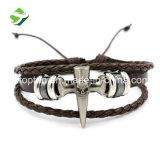 Fabrik-Zubehör-Qualität-schnelles Anlieferungs-Leder-Armband/Armband-Männer