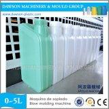 Extrusion en plastique du HDPE pp de machine de soufflage de corps creux de bouteille automatique