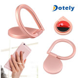 Anello di barretta di figura di goccia dell'acqua del supporto del basamento del telefono del popolare di rotazione di 360 gradi