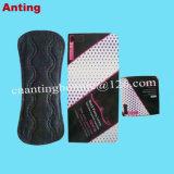 Weibliche Hygiene-Produkt-organische BaumwollePanty Großhandelszwischenlagen