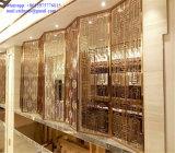 Progetto della decorazione interna dell'acciaio inossidabile per la decorazione dell'hotel delle 5 stelle