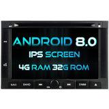 Auto DVD des Witson acht Kernandroid-8.0 für Peugeot 3008/5008 2009-2011 4G Touch Screen 32GB ROM-1080P Bildschirm ROM-IPS