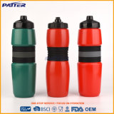 Botella de agua plástica del hockey colores a prueba de calor del silicón de diversos