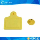 熱い販売動物の識別管理RFID耳札