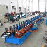 Rodillo de la losa del andamio de la prolongación del andén del edificio de la construcción que forma la fábrica de máquina de la producción