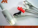 Ge-Hellige One-Piece Cable de ECG con derivaciones