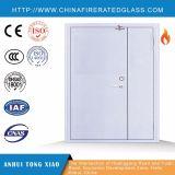 Puerta clasificada del fuego de acero doble desigual