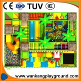 大きいサイズの屋内プラスチック運動場のスライド(WK-E921A)