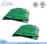 Plaque élevée de Toogle de pièces de rechange de broyeur de maxillaire de Nordberg Metso C200 de manganèse
