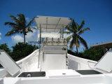 Fibre de verre de bateau de pêche de bateau de Liya 7.6m FRP