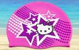 漫画パターンを持つ子供のためのカスタム水泳帽