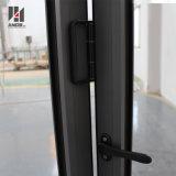 Двойные стекла на алюминиевые складные двери алюминиевые Bifold двери