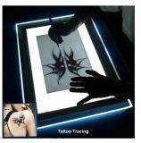 El panel ligero delgado del LED para el trazo del tatuaje y del gráfico