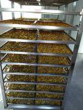 Máquina vegetal do secador da máquina de secagem da fruta do alimento de peixes frescos