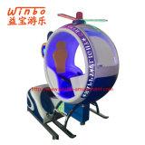 El Kiddie de fichas del oscilación de la diversión de la fábrica de China monta el plano con el juego video (K161)