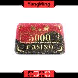 Triunfo que broncea/virutas de póker de acrílico cristalinas para el club Chipsmodel (YM-CP006) del póker del casino