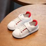 Новая конструкция мягкой детский обувь белый обувь детей в непринужденной обстановке Prewalker спортивную обувь детей