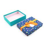 Contenitore di regalo su ordinazione all'ingrosso del cartone di marchio con il coperchio