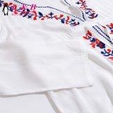 XXL Form-Frauen-Strand-lange Spitze-Bluse