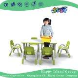 As crianças de creches Tabela Trapezoidal Turismo móveis de madeira (HG-4803)
