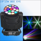 19*15W B bewegliches Hauptlicht des Augen-Träger-Summen-LED