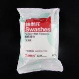 Глянцевая поверхность пластмассовых 80 ПК влажных салфеток упаковку Bag