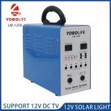 El apoyo de TV 12V DC sistema doméstico de energía solar