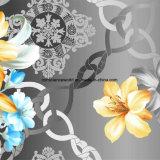 100%Polyester Zerstreung des Luffa-3D druckte Gewebe für Bettwäsche-Set