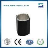 Специализированные продукты из алюминия с Anodization черного цвета