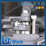 Válvula de esfera da flutuação do aço inoxidável A105 da alavanca de Didtek
