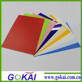 Mackingのカードのための4*8FTの明確な、多色刷りPVC堅いシート