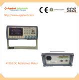 高精度のデジタルDCの抵抗のテスター(AT510)