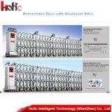 Elektronisches Aluminium, das einziehbare Tür schiebt