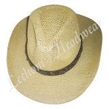 わらのカウボーイのバケツの帽子(LB15024)