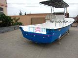 Constructeurs populaires de bateau de Panga de fibre de verre de Liya 25FT