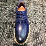 Los hombres ante los hombres de la Oficina de cuero Zapatos de Vestir Casual Loafer