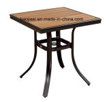 Alumínio ao ar livre/do jardim/Patio/Rattan/& tabela HS7123dt de Polywood