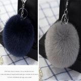 Fascino animale sfocato del sacchetto della pelliccia POM POM Keychain di Keychain
