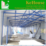 Casa prefabricada del suelo de dos pisos de la madera contrachapada