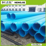 A parede interior lisa do tubo de HDPE para água