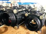 Wcbの炭素鋼の手動バット溶接Bw 3PCの球弁