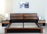 Кровати твердой деревянной кровати самомоднейшие двойные (M-X2298)