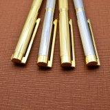 Penna d'argento del metallo dell'oro con la penna del rullo della protezione con la curva (LT-E098)