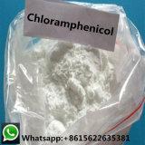 La fábrica suministra el polvo 56-75-7 del cloranfenicol de la pureza del 99% para las drogas veterinarias