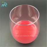 taza plástica para la boda, vidrio del vino de 16oz 450ml de vino del partido