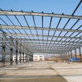 Taller barato de la estructura de acero de la luz de las materias primas