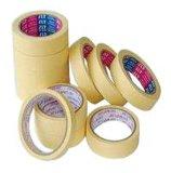 Adhesivo de color beige con cinta adhesiva para pintura
