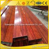 6063 6082 6061 hölzernes Korn-Aluminiumstrangpresßling-Profile für Dekoration